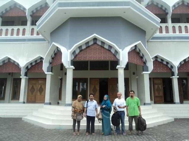 Gurabati Mosque in Tidore Island