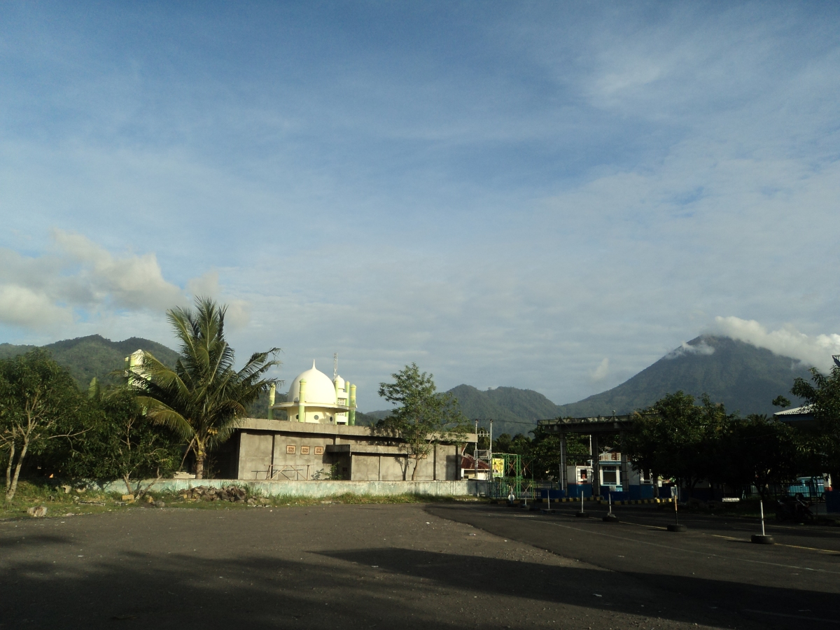 Mosque in Ferry Port Tidore