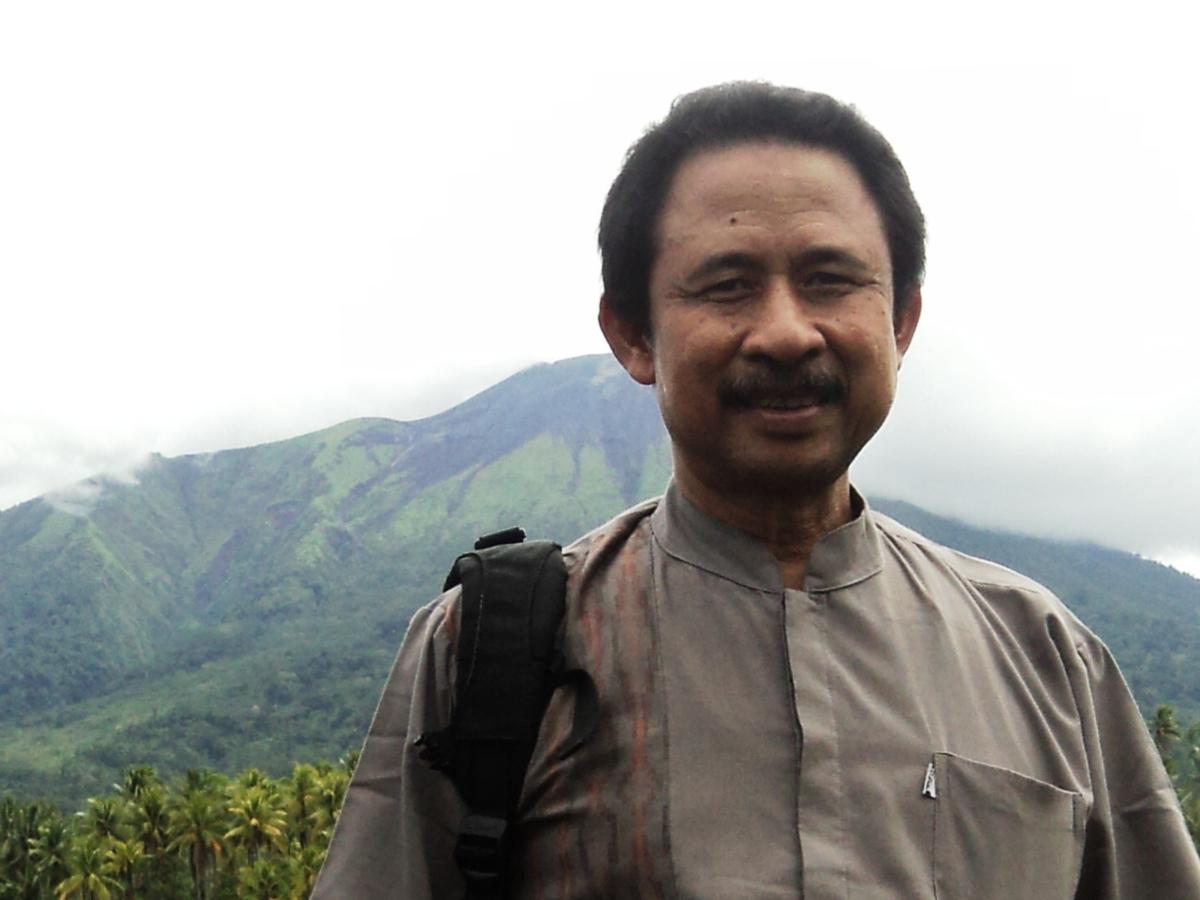 Gamalama Mountain
