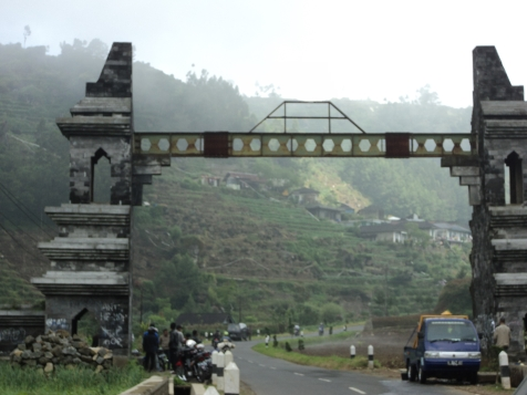 Dieng Welcome Gate