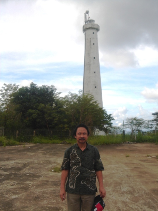 Tower of National Border RI-PNG