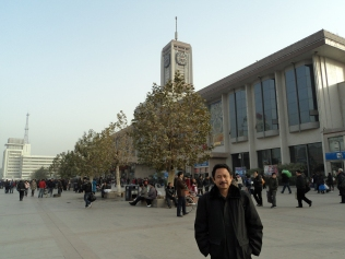 Front of Shijiazhuang Railway Station