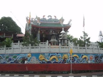 China Town Sarawak Malaysia