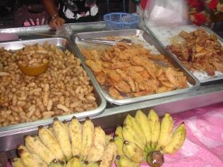 Banana, Fried Banana, and Peanut