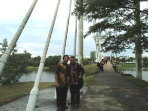 Love Bridge in UNIMAS Sarawak Malaysia