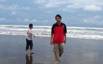 My friend Mr Daryoto and Son
